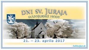 Koncert - Svätojurské hody @ Svätý Jur | Slovensko